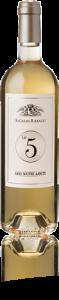 La bouteille du vin Le 5 Sans Soufre Ajouté de Sigalas.