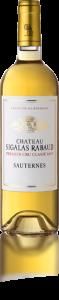 La bouteille du vin Le Château Sigalas Rabaud