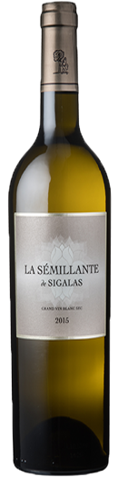 La Sémillante de Sigalas 2014, the single varietal dry white wine of the Château