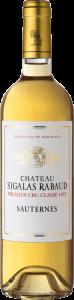 La bouteille du vin Le Château Sigalas Rabaud.